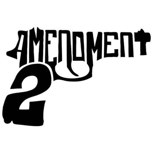 2 Amendment 444 Vinyl Sticker