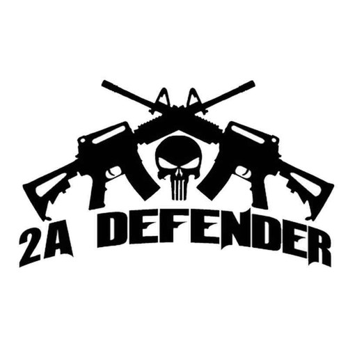 2nd Amendment Defender 1860 Vinyl Sticker
