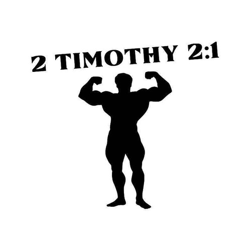 2 Timothy 21 Bible Vinyl Sticker