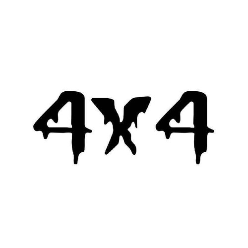 4x4 Off Road 19 Vinyl Sticker