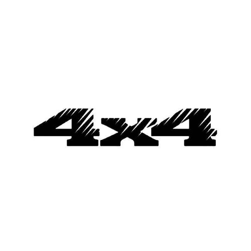 4x4 Off Road 34 Vinyl Sticker