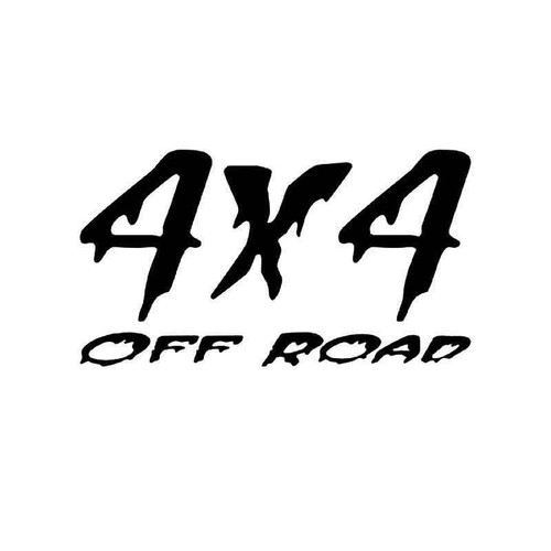 4x4 Off Road 35 Vinyl Sticker