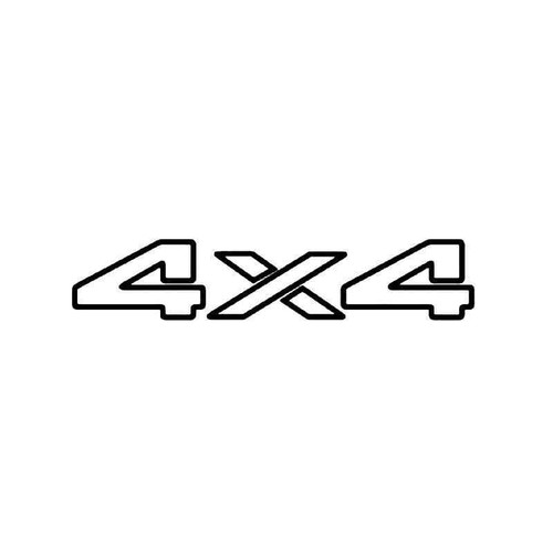 4x4 Off Road 6 Vinyl Sticker