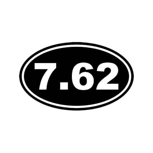 7.62 Ammo Bullet Vinyl Sticker