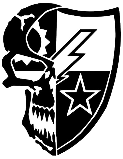 75th Ranger Regiment Skull