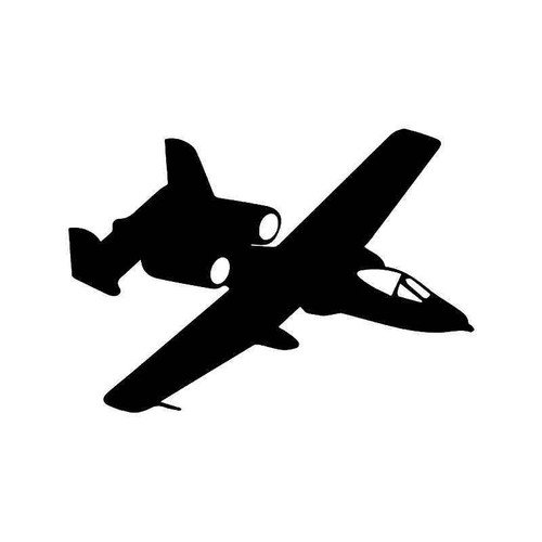 A 10 Thunderbolt Fighter Jet 1 Vinyl Sticker