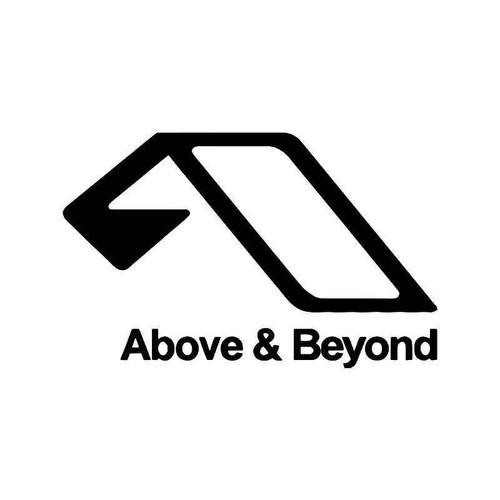 Above And Beyond Vinyl Sticker