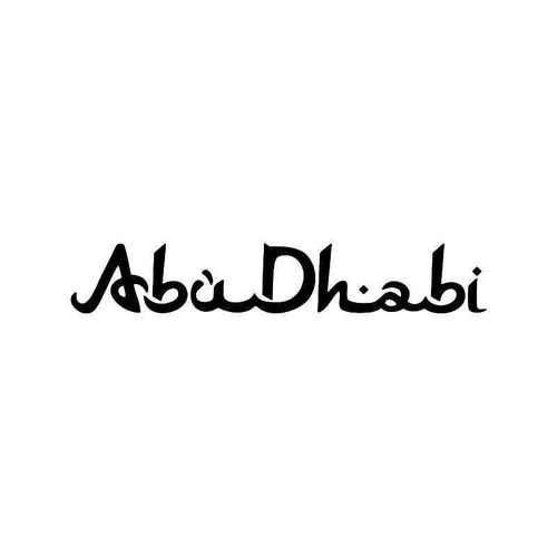 Abu Dhabi United Arab Emirates Vinyl Sticker