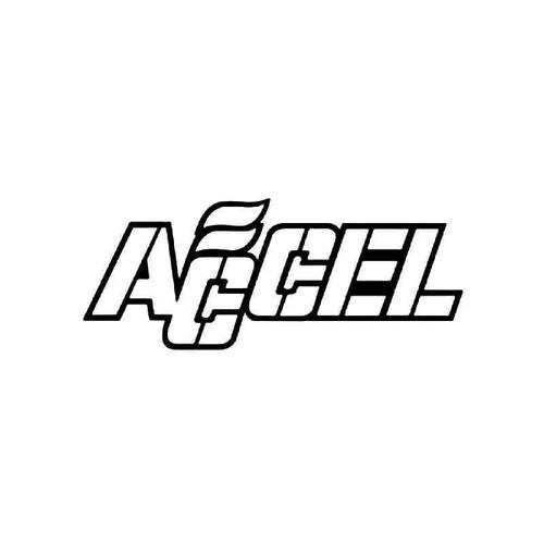Accel 1 Vinyl Sticker
