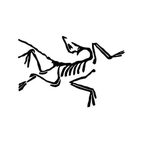 Acteryx Dinosaur Bird Vinyl Sticker