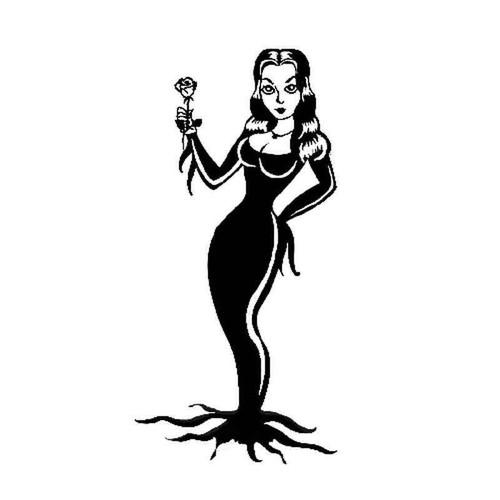 Addams Family 13231 Vinyl Sticker