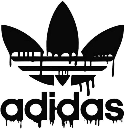 Adidas Dripping Blood