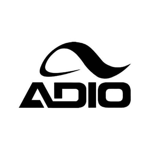 Adio Skate Logo 1 Vinyl Sticker