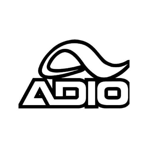 Adio Skate Logo 2 Vinyl Sticker