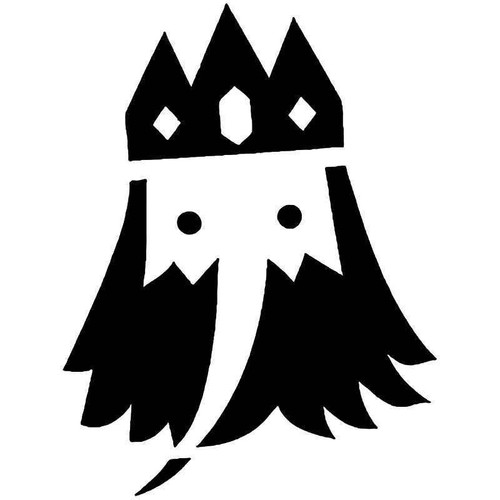 Adventure Time Ice King Vinyl Sticker