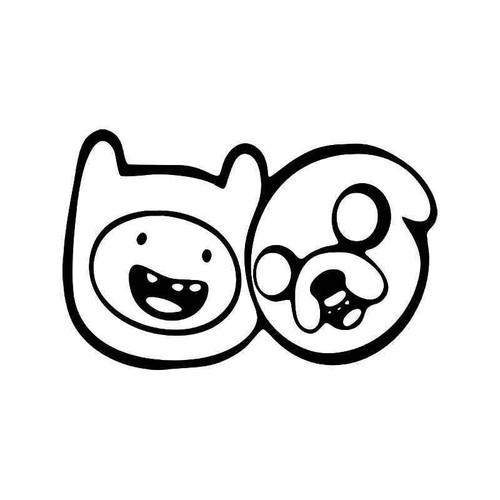 Adventure Time Jake Finn 1 Vinyl Sticker