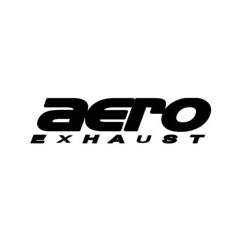 Aero Exhaust Vinyl Sticker