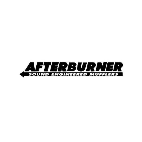 Afterburner Vinyl Sticker