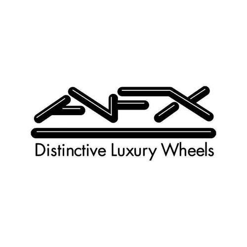 Afx Luxury Wheels 1 Vinyl Sticker