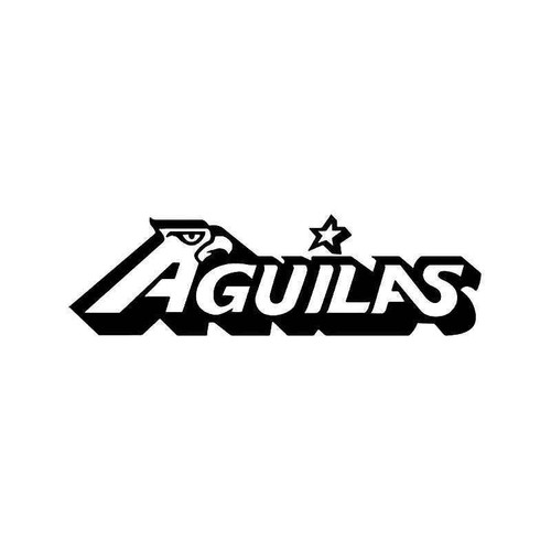 Aguilas Mexico Soccer Futbol Vinyl Sticker