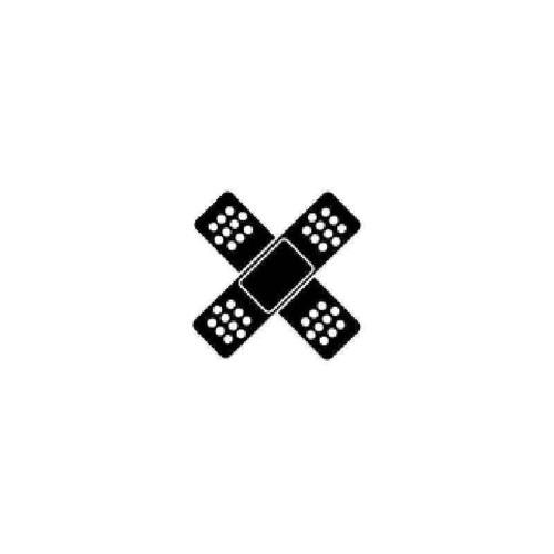 Aid Cross Vinyl Sticker