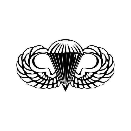 Airborne Paratrooper Us Army Vinyl Sticker