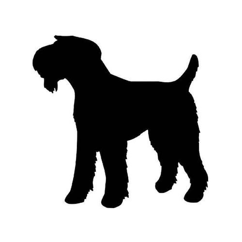 Airedale Terrier Dog 1 Vinyl Sticker