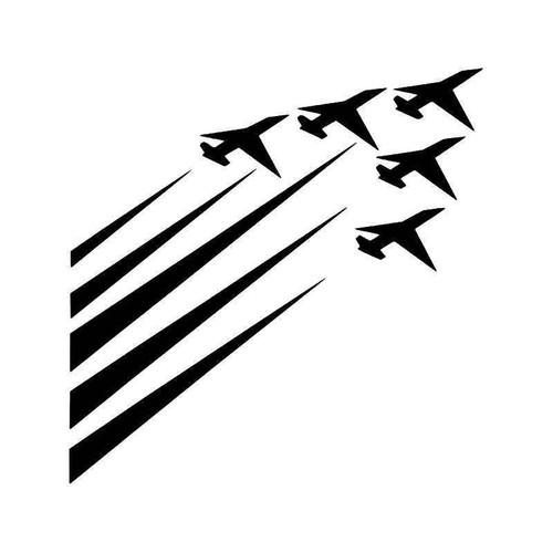 Airforce Jet Fighters Vinyl Sticker