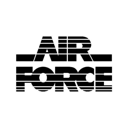 Air Force Military Vinyl Sticker