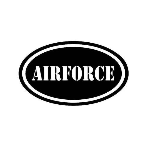 Air Force Us Army Vinyl Sticker