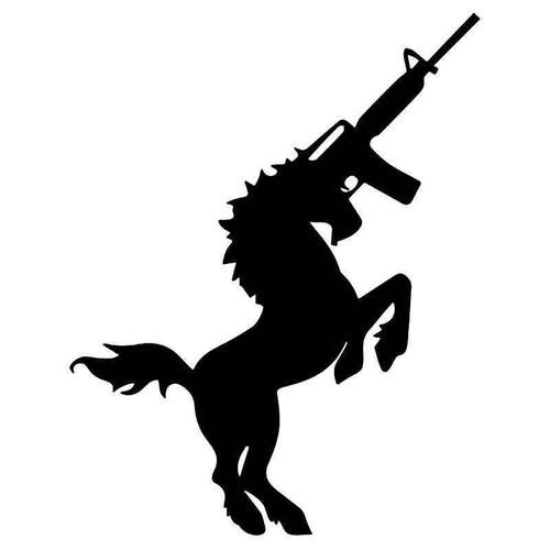 Ak 47 Unicorn Vinyl Sticker