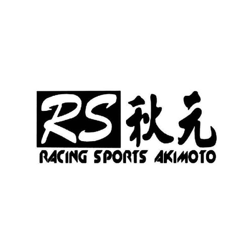 Akimoto Racing Sports 1 Vinyl Sticker