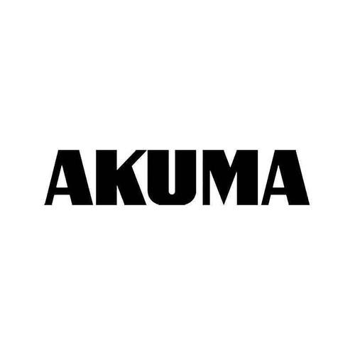 Akuma Vinyl Sticker