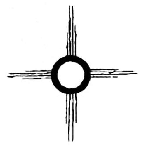 Petroglyph Sun