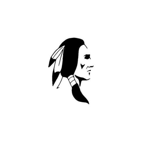 American Indian 2 Vinyl Sticker