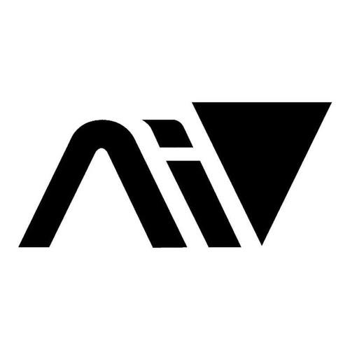 Andromeda Symbol Vinyl Sticker