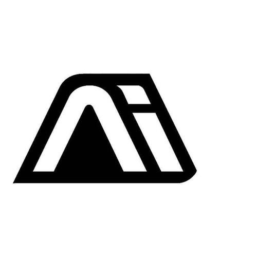 Andromeda Symbol Out Vinyl Sticker