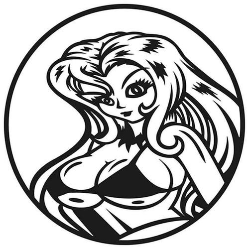 Anime Hottie 743 Vinyl Sticker