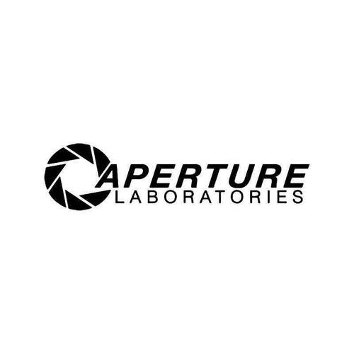Aperature Laboratories Gaming Vinyl Sticker
