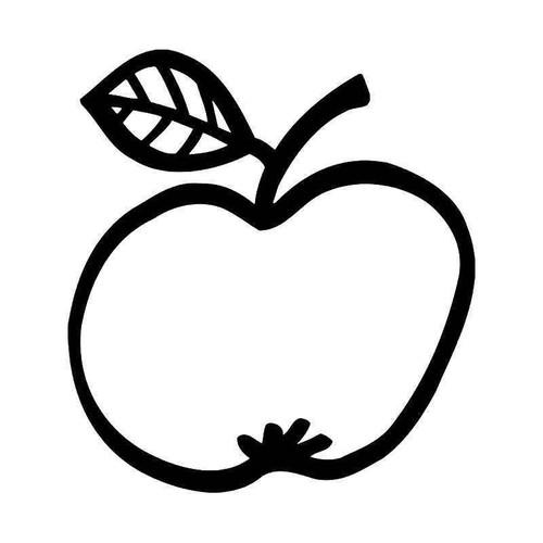 Apple Eats Android Vinyl Sticker
