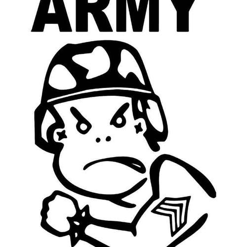 Army Bad Boy Military Vinyl Sticker