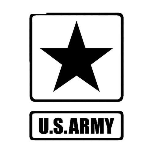 Army Symbol Vinyl Sticker