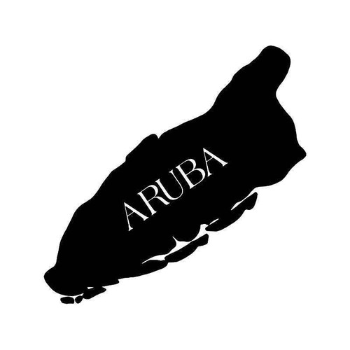 Aruba Island Vinyl Sticker