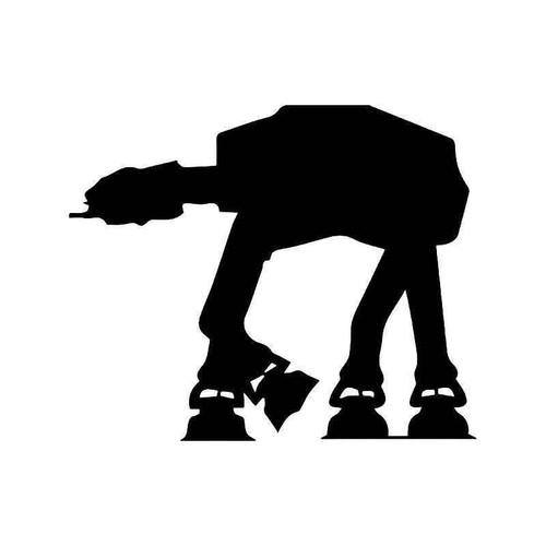At Walker Star Wars Vinyl Sticker