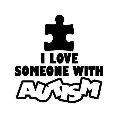 Autism Love Vinyl Sticker