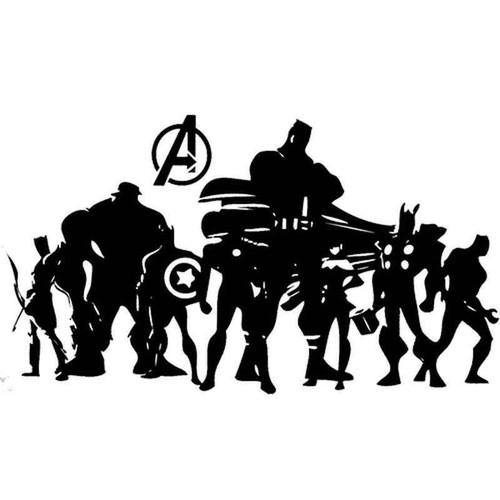 Avengers 1889 Vinyl Sticker