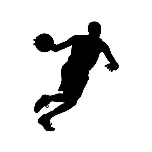 Basketball 3 Vinyl Sticker