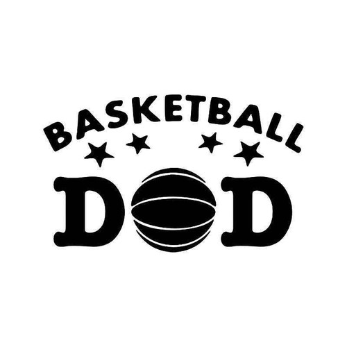 Basketball Dad Vinyl Sticker