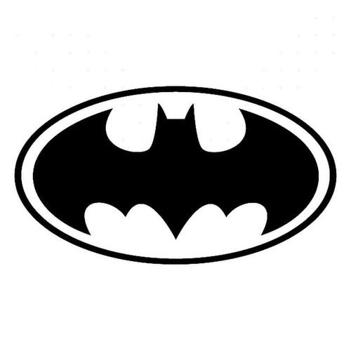 Batman 1989 Movie Symbol Vinyl Sticker