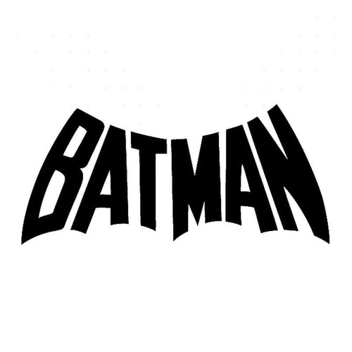 Batman Logo Vinyl Sticker